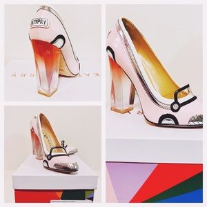 Katy Perry Shoes The Thelma Smooth Patent  Pink